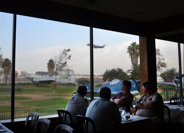Diners enjoy one of The Proud Bird's last meals. | Katherine Davis