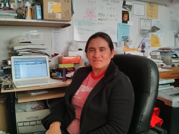 Angela Alvarez - a former domestic worker who now a lead organizer for the domestic workers movement at IDEPSCA