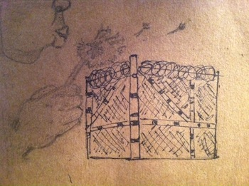 Artwork from Freedom Harvest Participant | Photo Courtesy of End Sheriff Violence Facebook Page