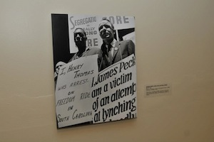 Photo from the Freedom Riders Exhibition | Photo Courtesy of Mayme A. Clayton Library & Museum