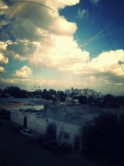 Thru the looking glass, South Central | Photo Credit: Lina Frausto
