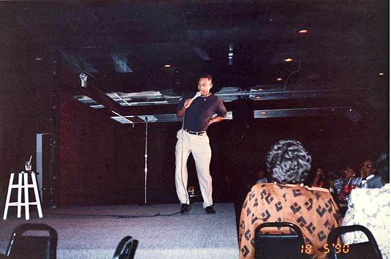 Martin Lawrence performing at the Comedy Act Theater| Courtesy Michael Williams