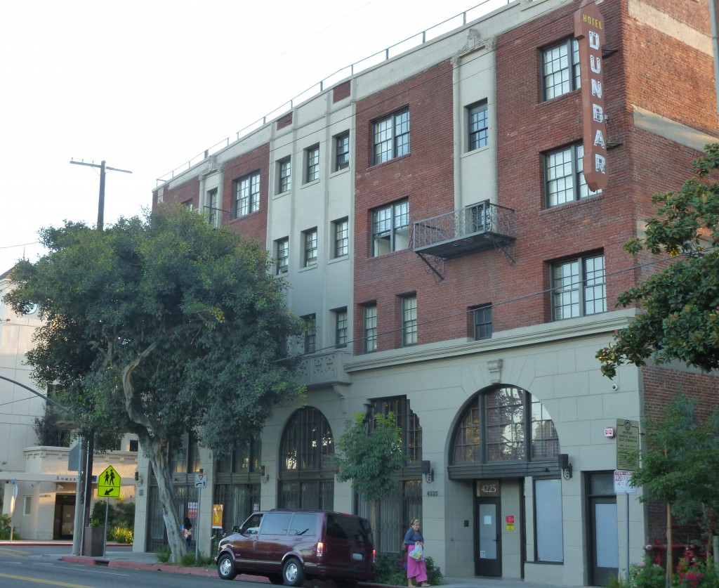 The Dunbar Hotel on Central Avenue. | Christina Campodonico