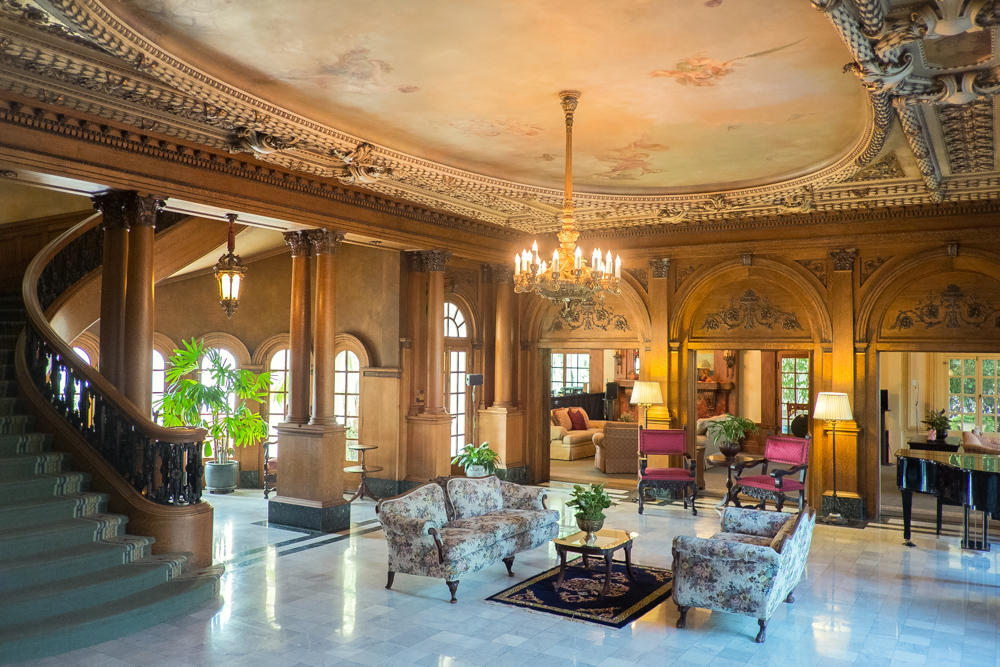 1914 Guasti Mansion Foyer
