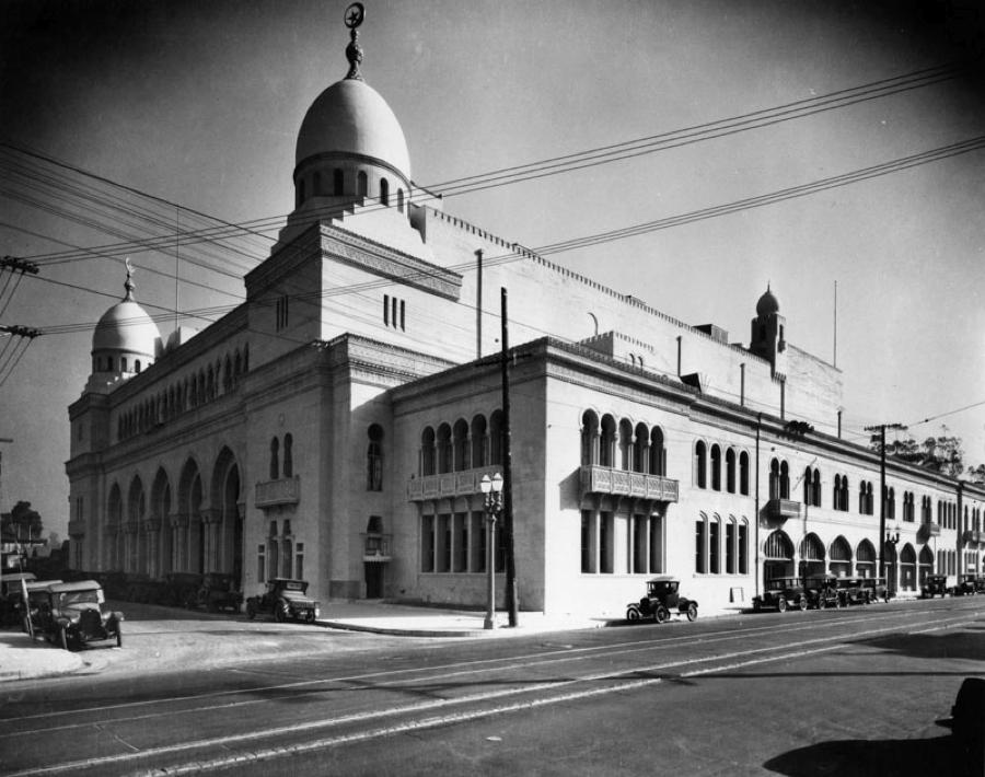 The Shrine Auditorium in the 1920s | LA Public Library
