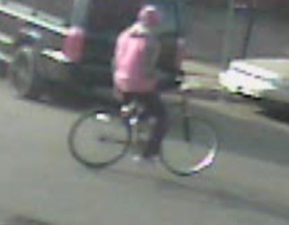 Image from a surveillance video of suspect in the Moses Nelson murder   Courtesy LAPD