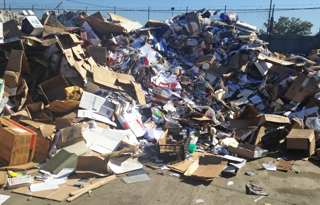 Active Recycling has taken more than 200,000 pounds of illegally dumped trash off LA streets . | Photo by Rachel Cohrs